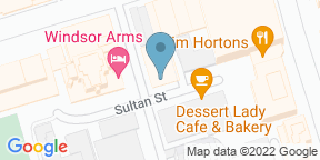 Google Map for Gatsby by Windsor Arms