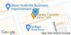 Google Map for La Piazza di Eataly