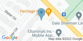 Google Map for Aria Bistro & Lounge