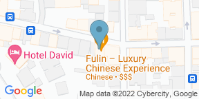 Google Map for Fulin Luxury Chinese Experience
