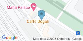 Google Map for Caffe' Dogali