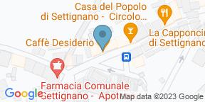 Google Map for Caffè Desiderio