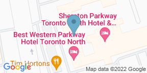 Google Map for Crave Restaurant - Sheraton Parkway Hotel