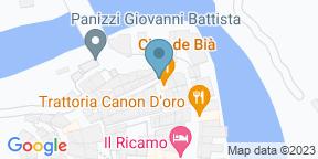 Google Map for Osteria Cian De Bià