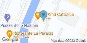 Google Map for Bandanas Beach Bar