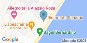 Google Map for Panama