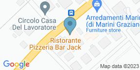Mappa Google per Ristorante Pizzeria Jack