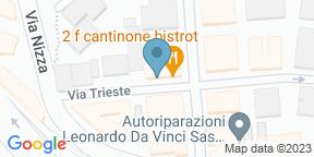Google Map for 2F Restaurant