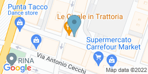 Google Map for Le Cicale in Trattoria
