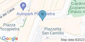 Google Map for Broadside Sushi Concept