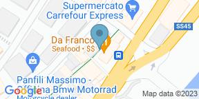 Google Map for Da Franco al Borgo