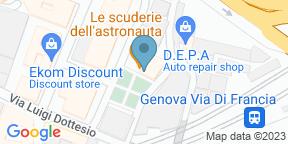 Google Map for Le Scuderie dell'Astronauta