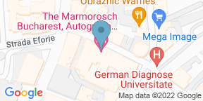 Google Map for Blank Restaurant at The Marmorosch Bucharest - Autograph Collection