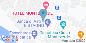 Google Map for La Teca Bistagno