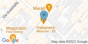 Google Map for Habanero - Ristorante Messicano