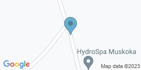 Google Map for JW Marriott The Rosseau Muskoka - Muskoka Chophouse