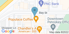 Google Map for Chandler's a Restaurant