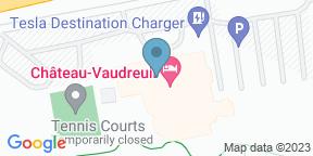Google Map for Restaurant du Château Vaudreuil
