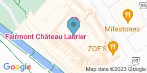 Terrasse- Fairmont Chateau Laurier auf Google Maps