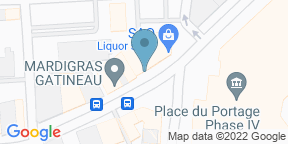Google Map for Les Vilains Garcons