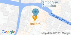 Google Map for Bakaró - Osteria & Co.