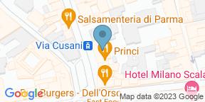 Google Map for Wasabi Brera