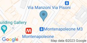 Google Map for Armani/Bamboo Bar - Armani Hotel Milano