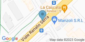 Google Map for Del Vento