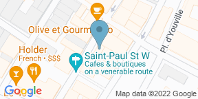 Google Map for Bloom Sushi