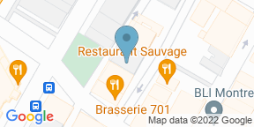 Google Map for Terrasse Place D'Armes