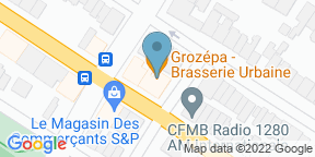 Google Map for Grozépa Brasserie Urbaine