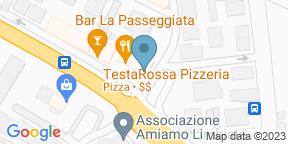 Google Map for RISTORANTE GUSTOSO