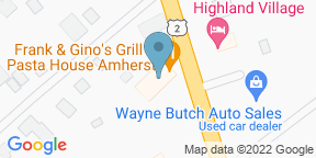 Google Map for Frank & Gino's - Amherst