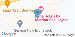Google Map for Windjammer - Delta Beauséjour Moncton