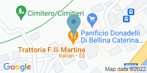 Google Map for Trattoria F.lli Martina