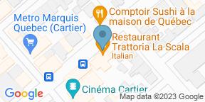 Google Map for Restaurant Trattoria La Scala