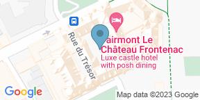 Google Map for 1608 - Bar Vin et Fromage - Fairmont Le Château Frontenac