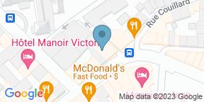 Google Map for Bistro Hortus