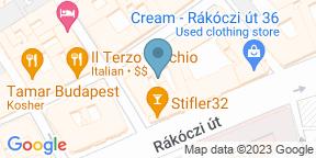 Google Map for ESCA studio restaurant