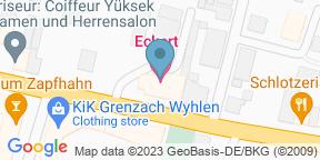 Google Map for Hotel Restaurant Eckert