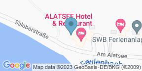 Google Map for Hotel Alatsee