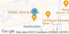 Google Map for Brasserie Colette Konstanz