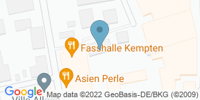 Google Map for Fasshalle Kempten