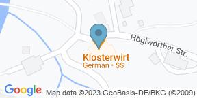 Google Map for Klosterwirt Höglwörth