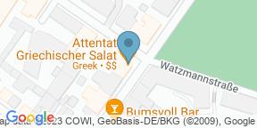 Google Map for Attentat Griechischer Salat