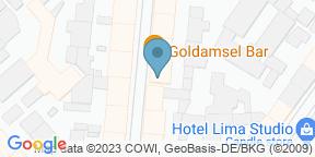 Goldamsel auf Google Maps
