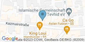 Google Map for Jolandas Vinothek
