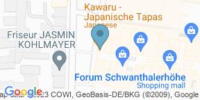 Google Map for Kawaru - japanische Tapas
