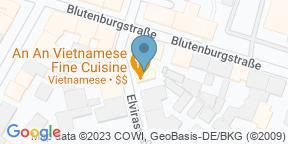 Google Map for An An Vietnamese Cuisine