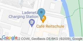 Google Map for Cafe Reitschule